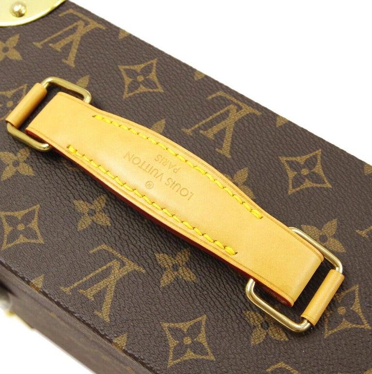 Women's or Men's Louis Vuitton Monogram Men's Women's Vanity Perfume Cologne Travel Trunk Case For Sale
