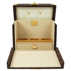 Louis Vuitton Monogram Men's Women's Vanity Perfume Cologne Travel Trunk Case