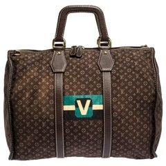 Louis Vuitton Monogram Mini Lin Initiales Keepall Bag