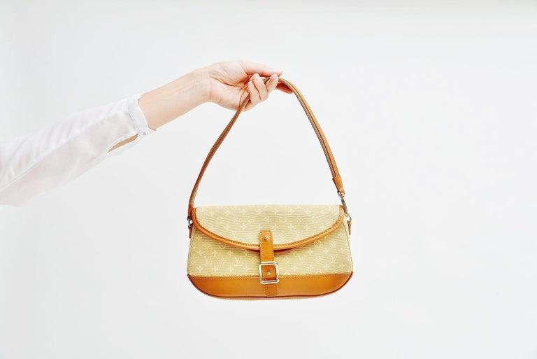 Louis Vuitton Monogram Mini Lin Marjorie Beige Shoulder Bag For Sale 7