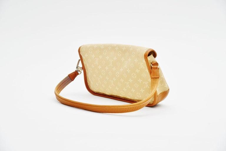 Louis Vuitton Monogram Mini Lin Marjorie Beige Shoulder Bag In Good Condition For Sale In Roosendaal, NL