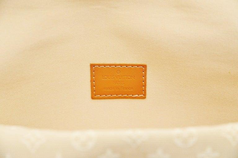 Louis Vuitton Monogram Mini Lin Marjorie Beige Shoulder Bag For Sale 5