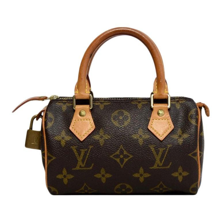 acheter populaire 93726 0ce84 Louis Vuitton Monogram Mini Sac HL Speedy Bag