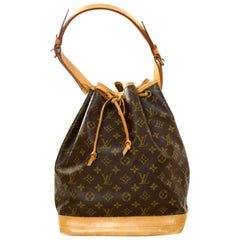 Louis Vuitton Monogram Noe Drawstring Bucket Bag