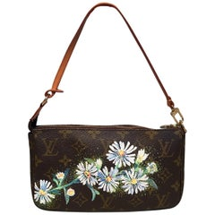 Louis Vuitton Monogram Painted Daisies Pochette Accessoires Accessories Pouch