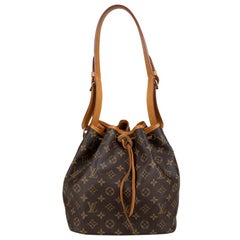 Louis Vuitton Monogram Petit Noé Bag