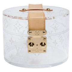 Louis Vuitton Monogram Plexiglass Box Scott