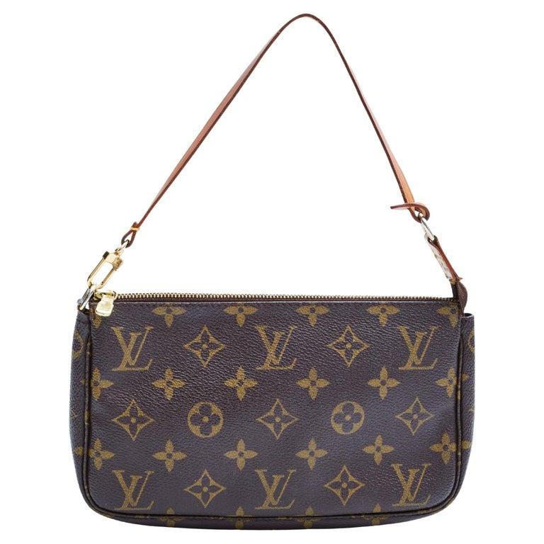 Louis Vuitton Monogram Pochette Accessories Bag 2001 For Sale