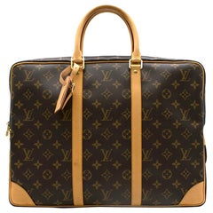 Louis Vuitton Monogram Porte-Documents Voyage Bag