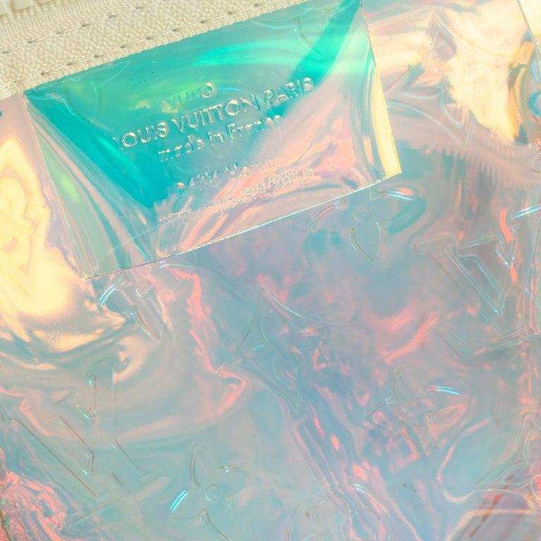 Louis Vuitton Monogram Prism Keepall Bandouliere 50 Bag 11