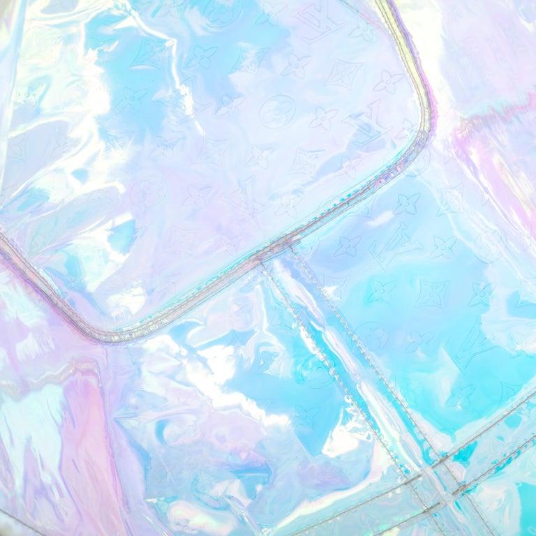Louis Vuitton Monogram Prism Keepall Bandouliere 50 Bag 14