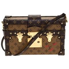 Louis Vuitton Monogram Reverse Canvas Petite Malle Bag