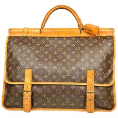 Louis Vuitton Monogram Sac Kleber Chasse Travel Bag
