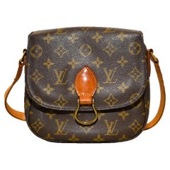 Louis Vuitton Monogram Saint Cloud Shoulder/Crossover Bag