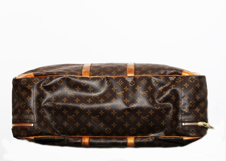 Louis Vuitton Monogram Sirius Suitcase 70cm Luggage Weekender Travel Bag 80s For Sale 1