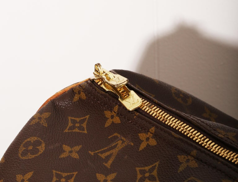Louis Vuitton Monogram Sirius Suitcase 70cm Luggage Weekender Travel Bag 80s For Sale 3