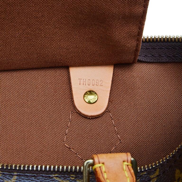Louis Vuitton Monogram Speedy 35 Handbag (2002) For Sale 1
