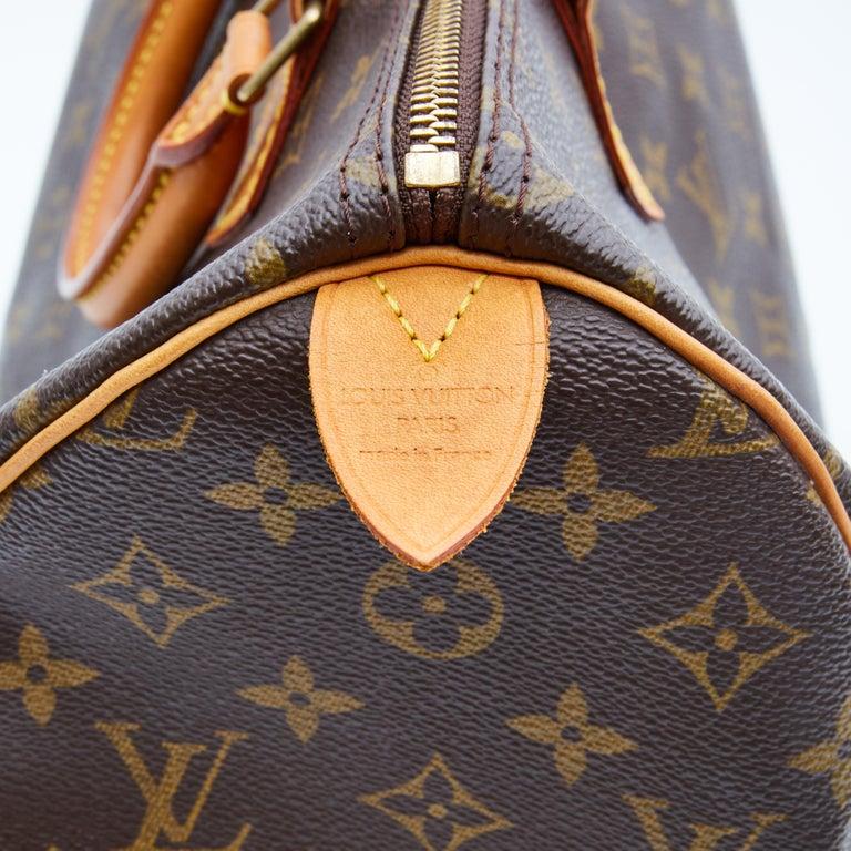 Louis Vuitton Monogram Speedy 35 Handbag (2002) For Sale 2