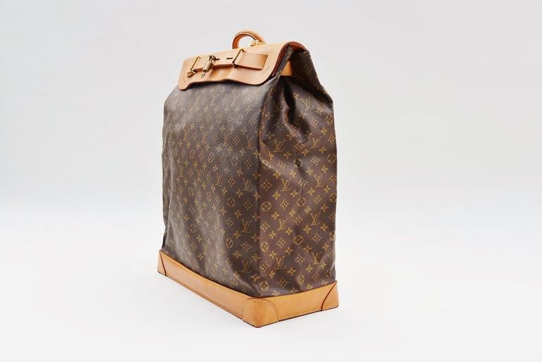 Louis Vuitton Monogram Steamer Bag 45  For Sale 1