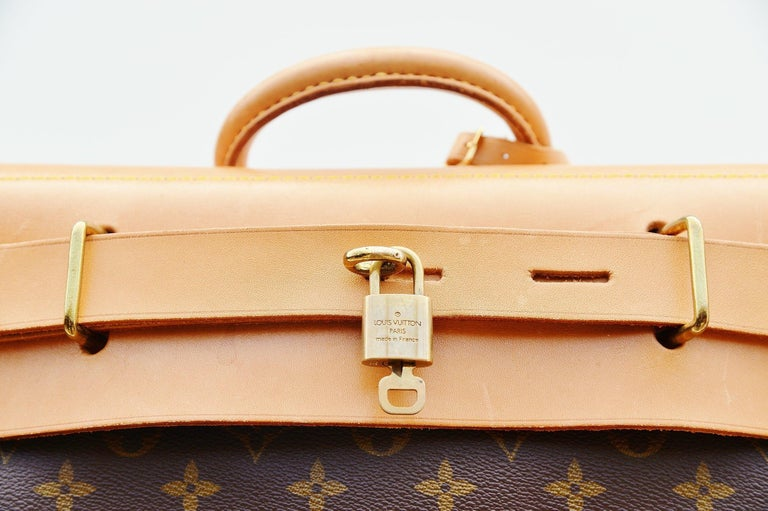 Louis Vuitton Monogram Steamer Bag 45  For Sale 3