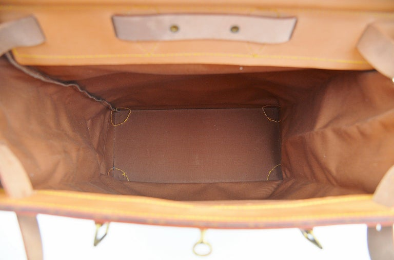 Louis Vuitton Monogram Steamer Bag 45  For Sale 4