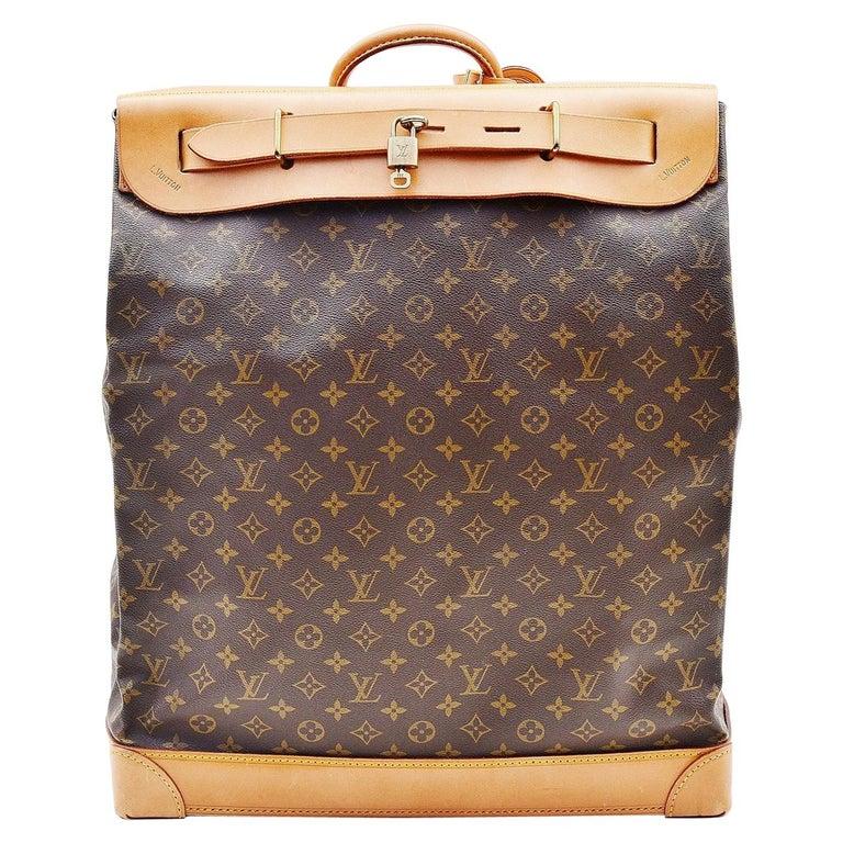 Louis Vuitton Monogram Steamer Bag 45  For Sale