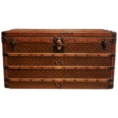 Louis Vuitton Monogram Steamer Trunk, circa 1905