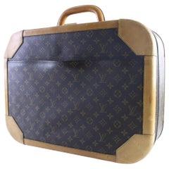 Louis Vuitton Monogram Stratos Hard Luggage 17lr0529 Brown Canvas Weekend/Travel