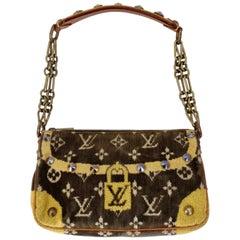 Louis Vuitton Monogram Terry Cloth Pochette Trompe L'oeil Bag