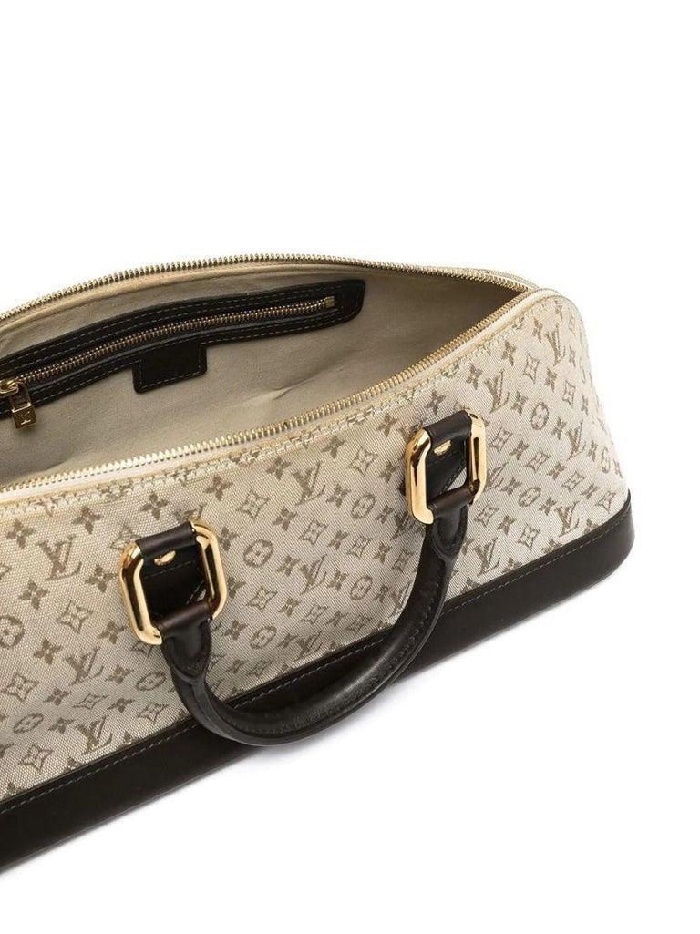 Beige Louis Vuitton Monogram Tote Bag For Sale