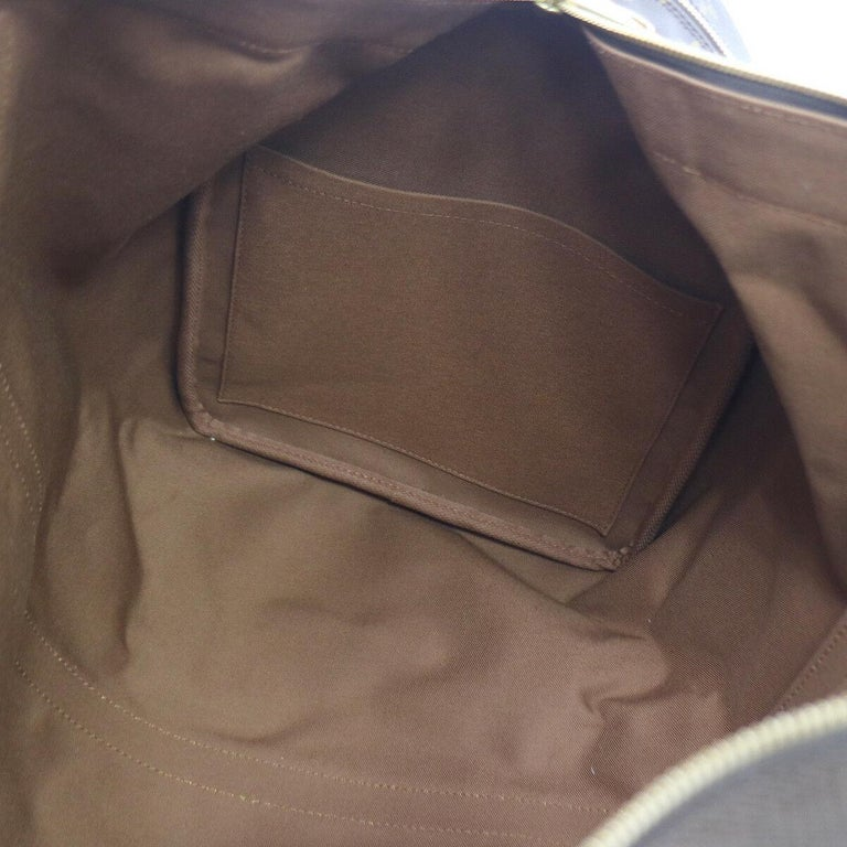 Louis Vuitton Monogram Travel Men's Women's Top Handle Weekender Duffle Bag For Sale 2