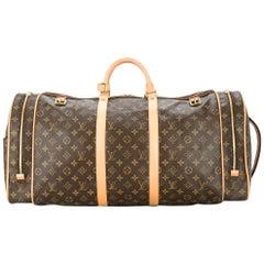 Louis Vuitton Monogram Travel Men's Women's Top Handle Weekender Duffle Bag
