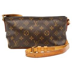 Louis Vuitton Monogram Troutter Shoulder Bag
