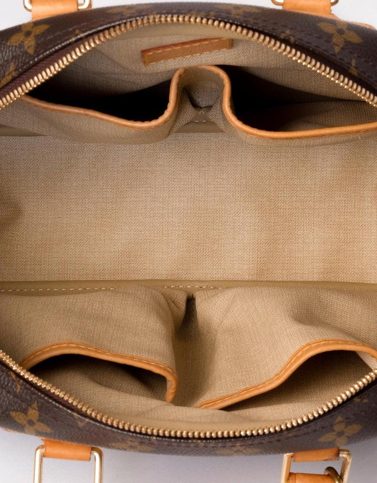 Louis Vuitton Monogram Trouville Bag For Sale 1