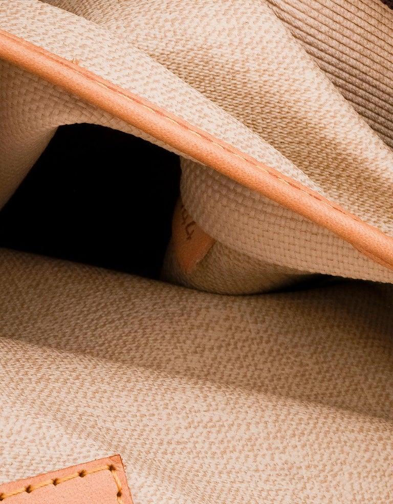 Louis Vuitton Monogram Trouville Bag For Sale 3