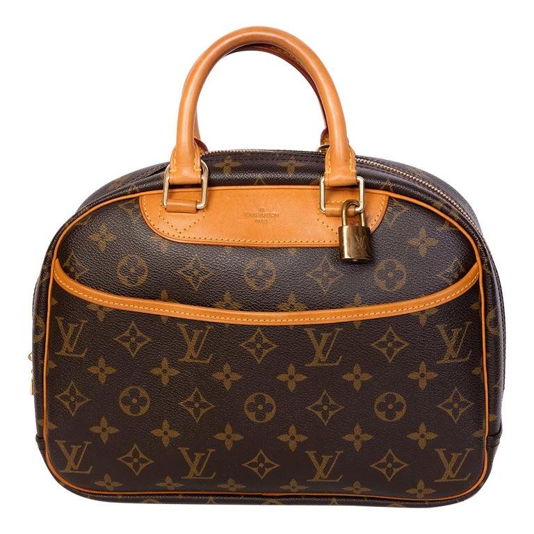 Louis Vuitton Monogram Trouville Bag For Sale