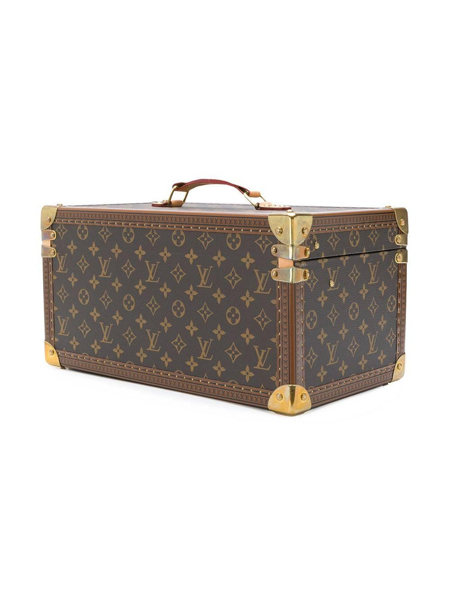 d407f4fc3 Louis Vuitton Monogram Trunk Cosmetic Case at 1stdibs