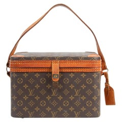Louis Vuitton Monogram Trunk Vanity Case