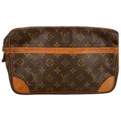Louis Vuitton Monogram Vintage clutch Borsa cosmetica Compiegne 28