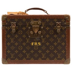 Louis Vuitton Monogram Vintage Trunk Vanity Case Pharmacy Box