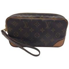 Louis Vuitton Monogram Wristlet Clutch