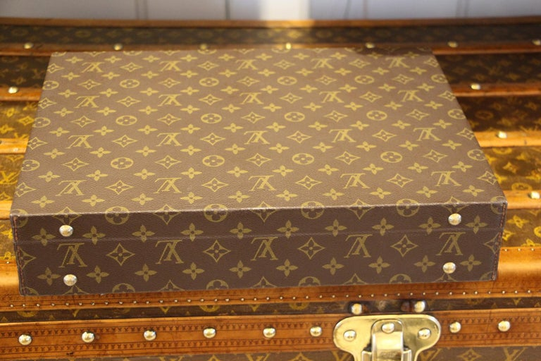 Louis Vuitton Monogramm Briefcase, Louis Vuitton Attache Case For Sale 6
