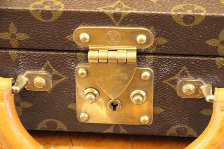 Louis Vuitton Monogramm Briefcase, Louis Vuitton Attache Case In Excellent Condition For Sale In Saint-ouen, FR