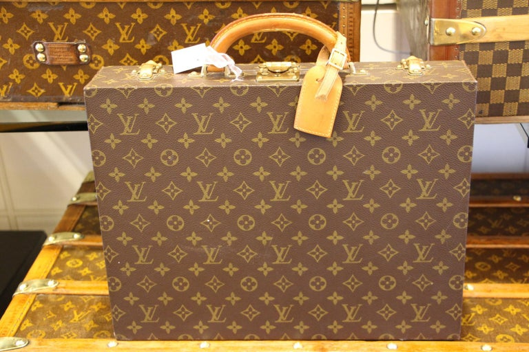 Louis Vuitton Monogramm Briefcase, Louis Vuitton Attache Case For Sale 3