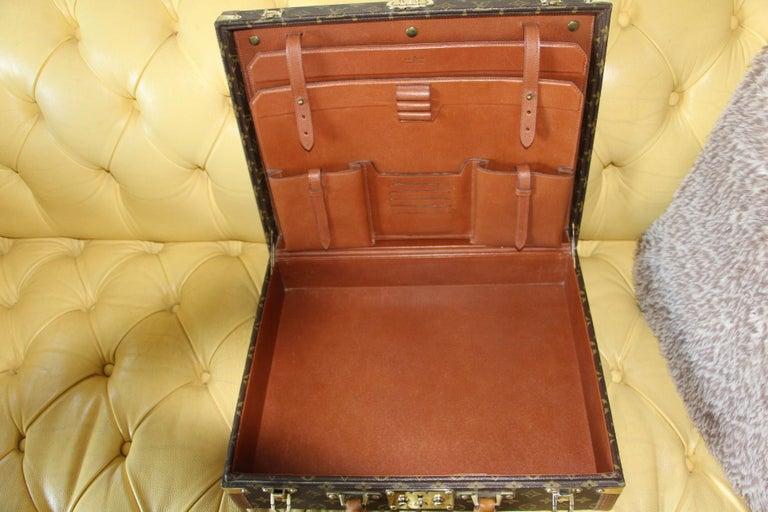 Louis Vuitton Monogramm Briefcase, Louis Vuitton President Case For Sale 5