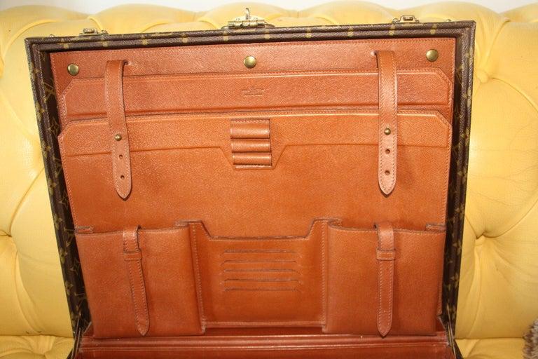 Louis Vuitton Monogramm Briefcase, Louis Vuitton President Case For Sale 6