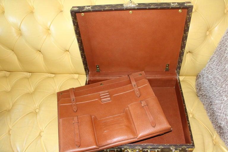 Louis Vuitton Monogramm Briefcase, Louis Vuitton President Case For Sale 8