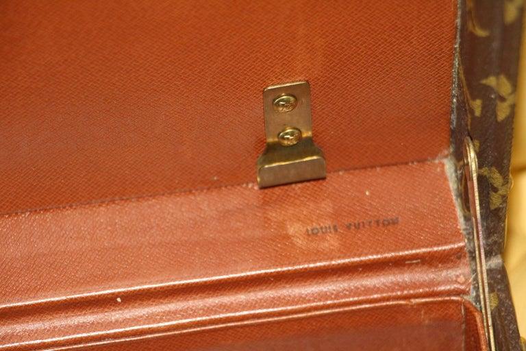 Louis Vuitton Monogramm Briefcase, Louis Vuitton President Case For Sale 9