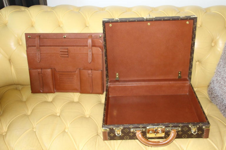 Louis Vuitton Monogramm Briefcase, Louis Vuitton President Case For Sale 10