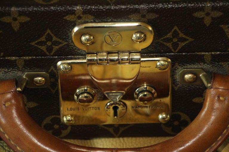 Brown Louis Vuitton Monogramm Briefcase, Louis Vuitton President Case For Sale